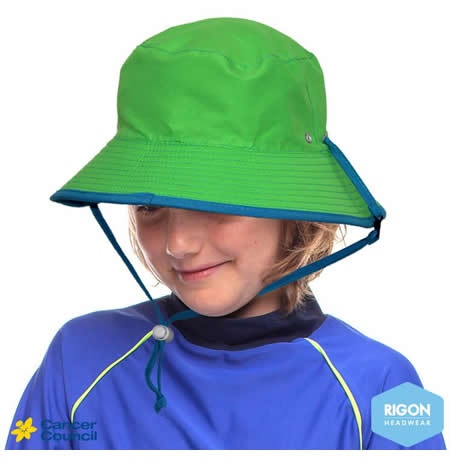 B316 Kids Fluro Reversible Bucket