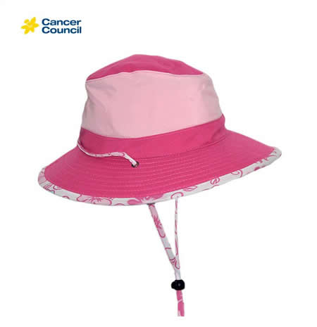 B78 Cancer Council Lucy Brim Swim Hat