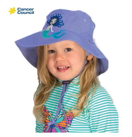 B816 Annabel Wide Brim Mermaid Hat
