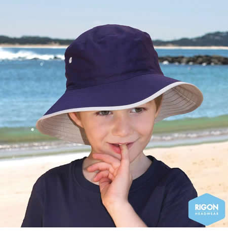 B819 Kids Lightweight Bucket Hat