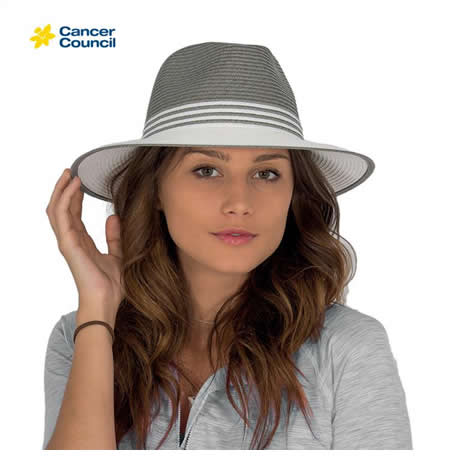 RL84 Cancer Council Ladies Monochrome Fedora