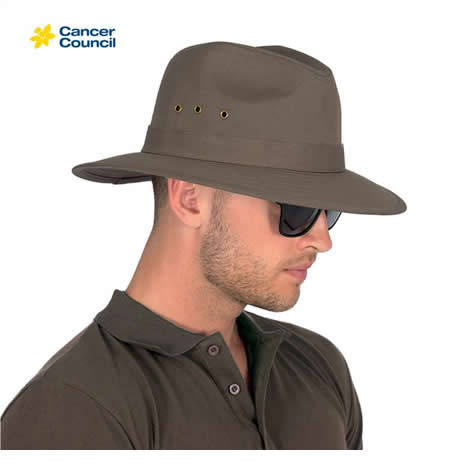 RM125 Men's Canvas Fedora