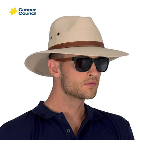 RM205 Men's Canvas Fedora